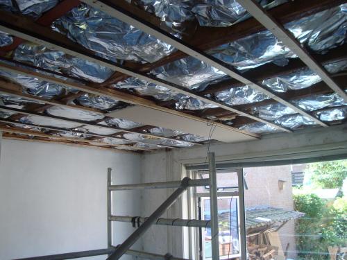 Plafond isoleren